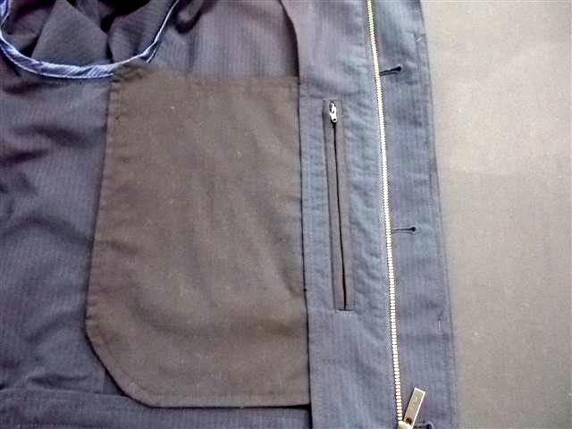 ジャケット 内ポケット作り②k