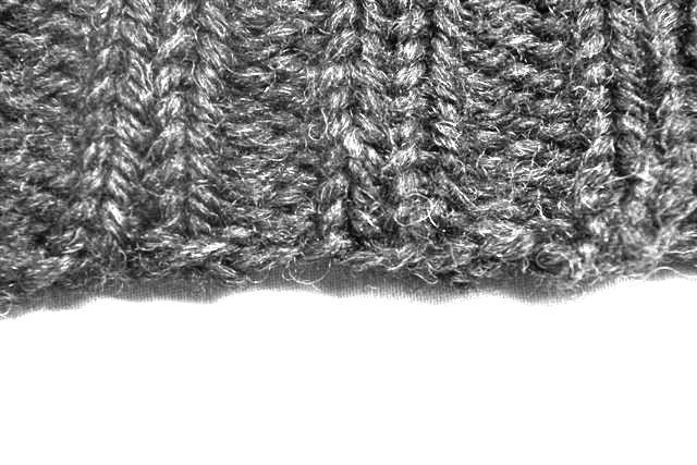 セーター 編み直し①