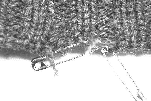 セーター 編み直し④